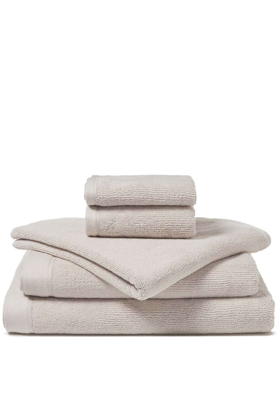 Canningvale - Corduroy Rib Bath Towel Turtledove