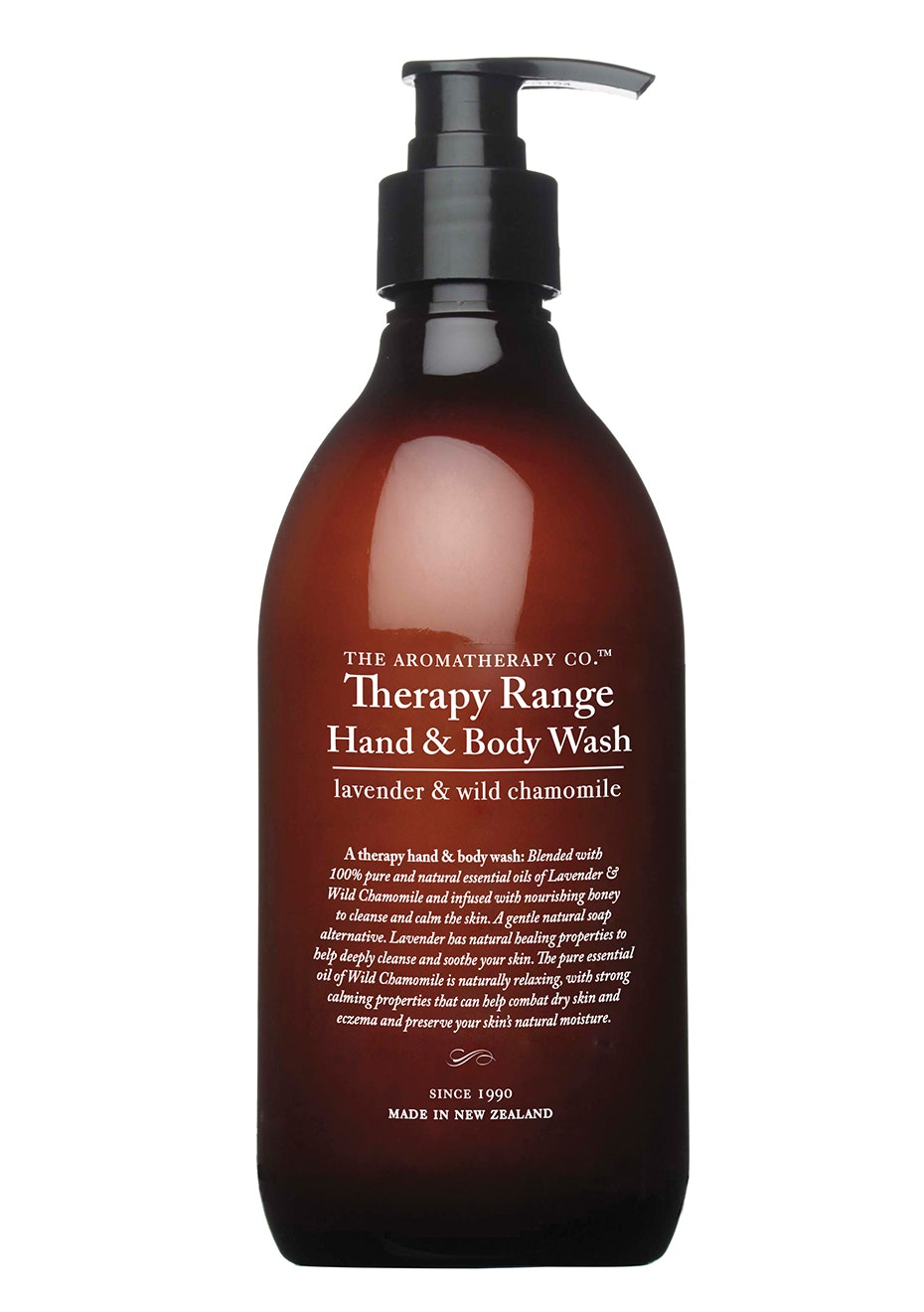 The Aromatherapy Co. Therapy Hand & Body Wash - Lavender, Manuka & Wild Chamomile