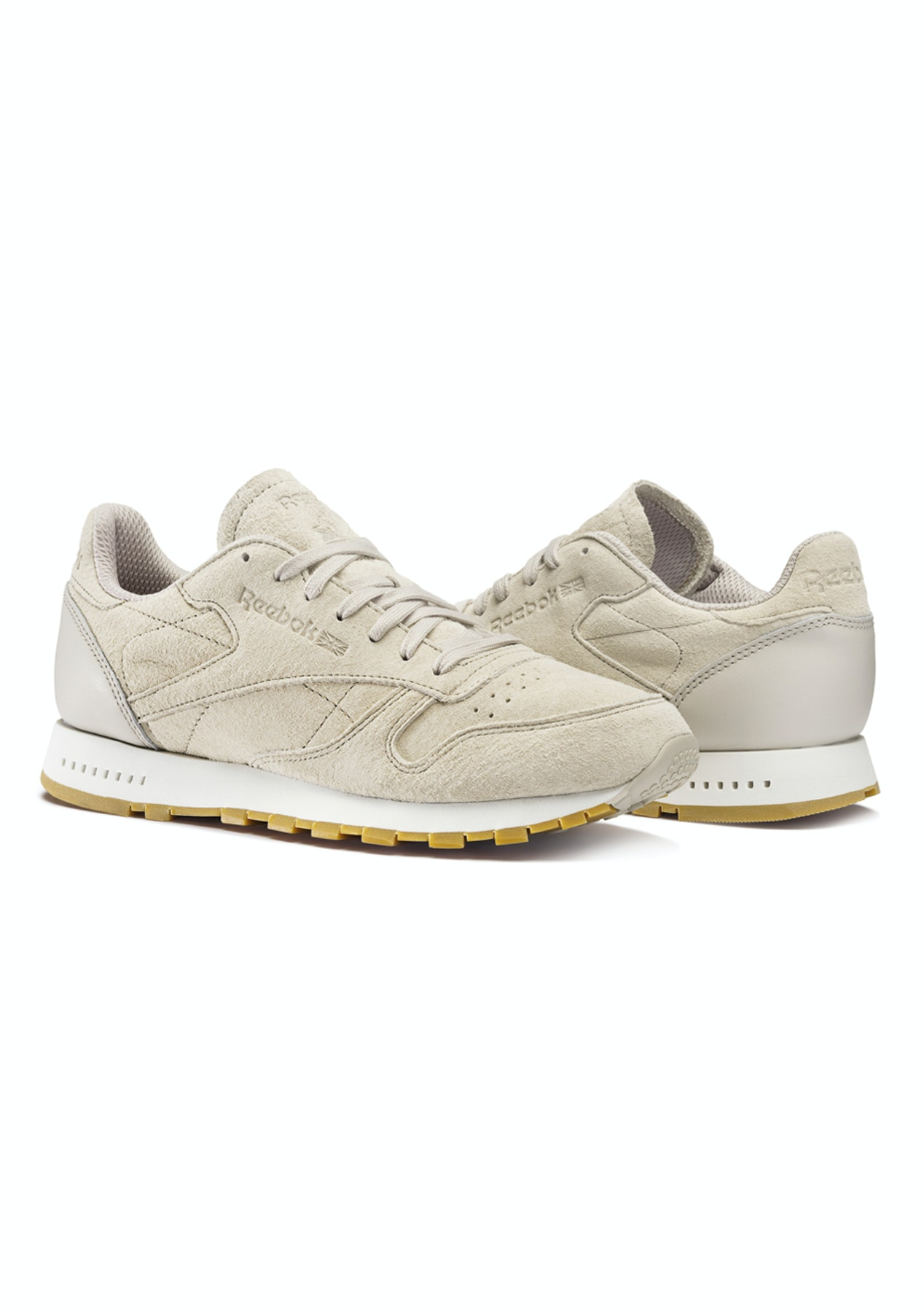 0240c589461327 Reebok Unisex - Classic Leather Sg Sand Stone Chalk-Gum - Activewear Price  Reductions - Onceit