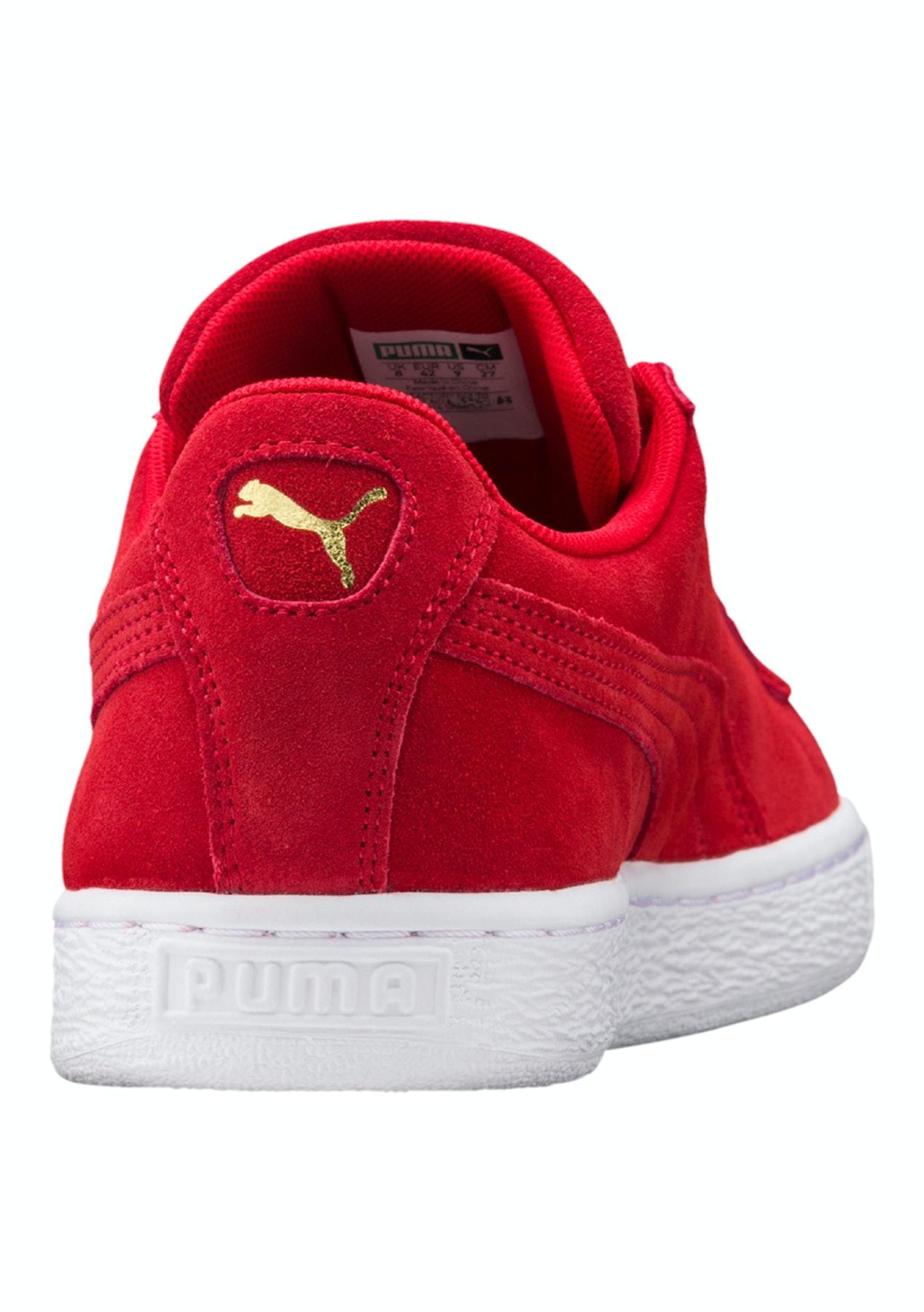 pretty nice 373fa 3ff40 Puma - Suede Classic + High Risk Red - Womens