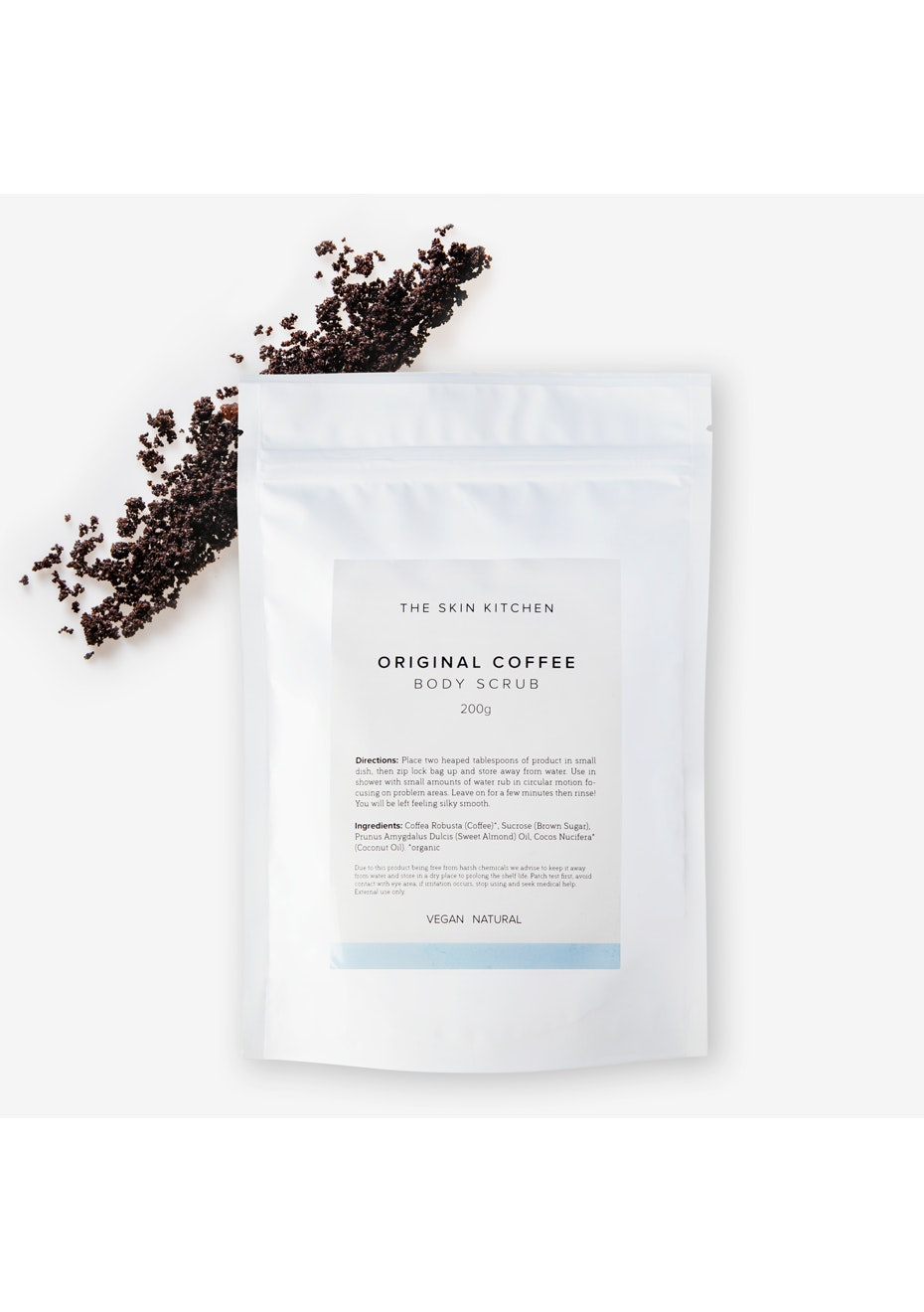 The Skin Kitchen - Original Coffee Scrub - 200g