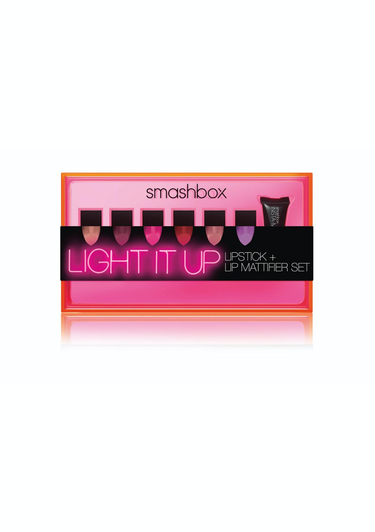 Smashbox Light It Up Lipstick And Lip Mattifier Set Be Legendary Matte Palettelimited Edition Contour Palette More Onceit