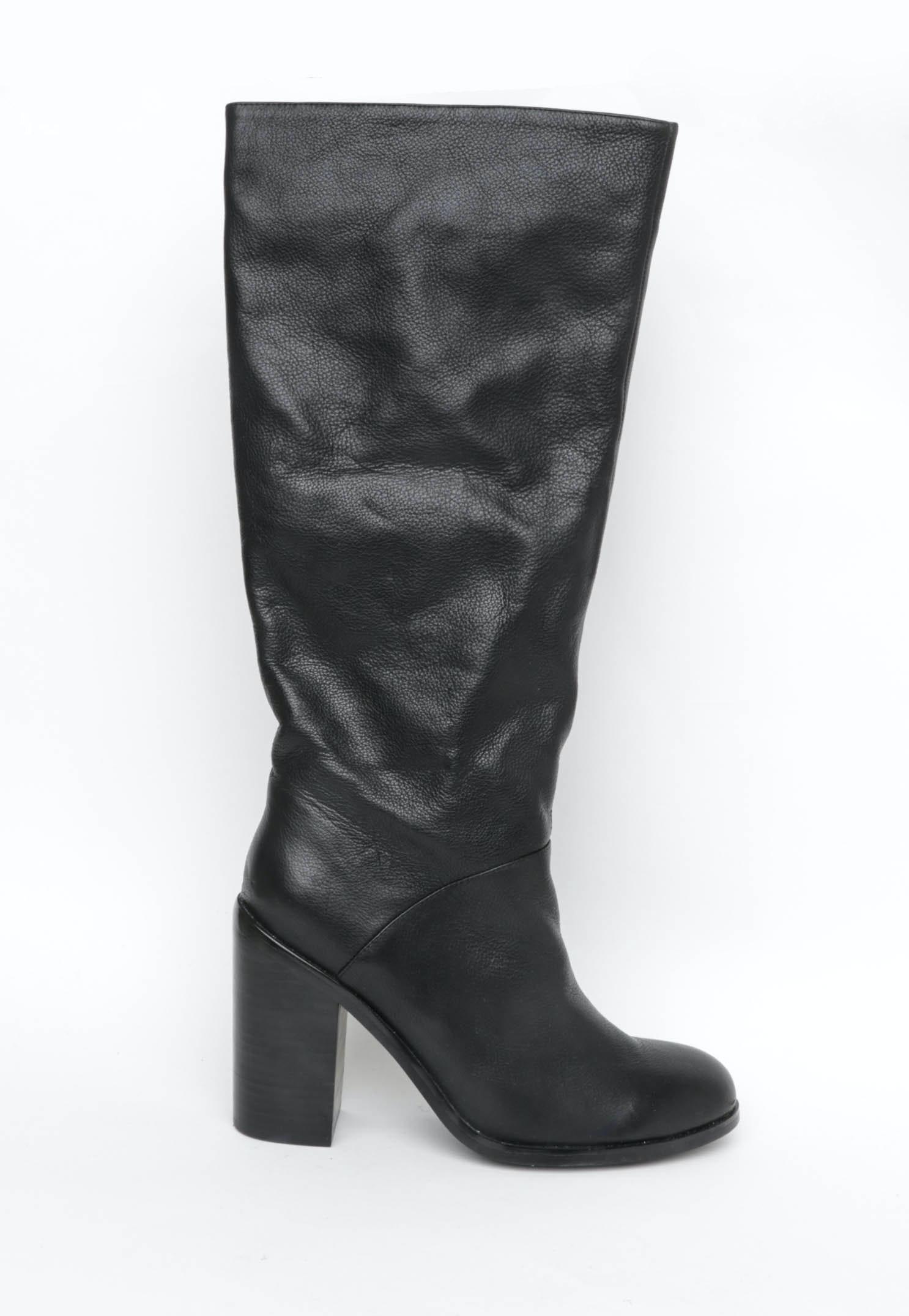 Sol Sana - Laeather Boots - Black