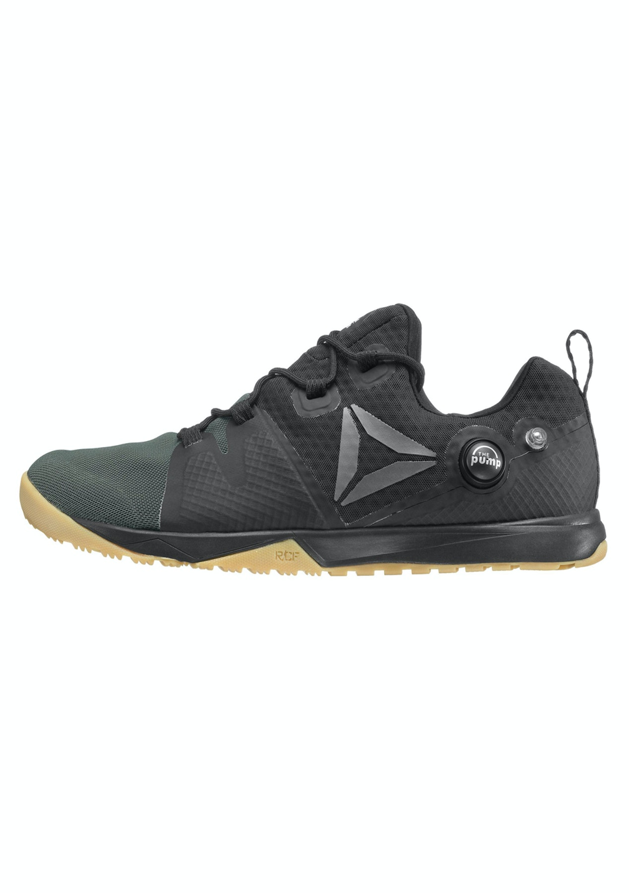 522fd37c1050 Reebok Mens - R Crossfit Nano Pump - Black Coal Classic White Gum Pewter -  Mens Shoe Sale - Onceit