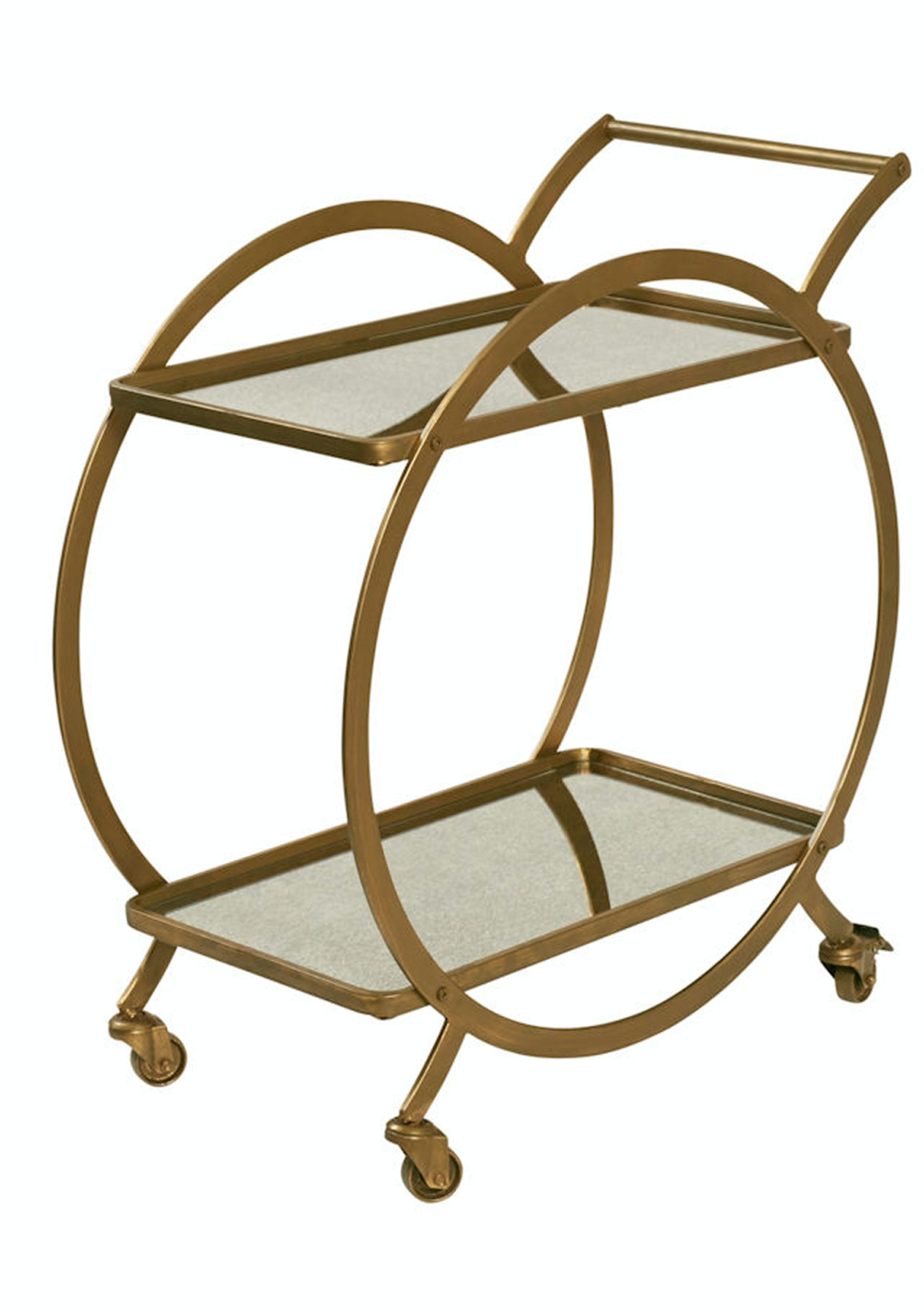 Amalfi - Walter Drinks Trolley - Gold