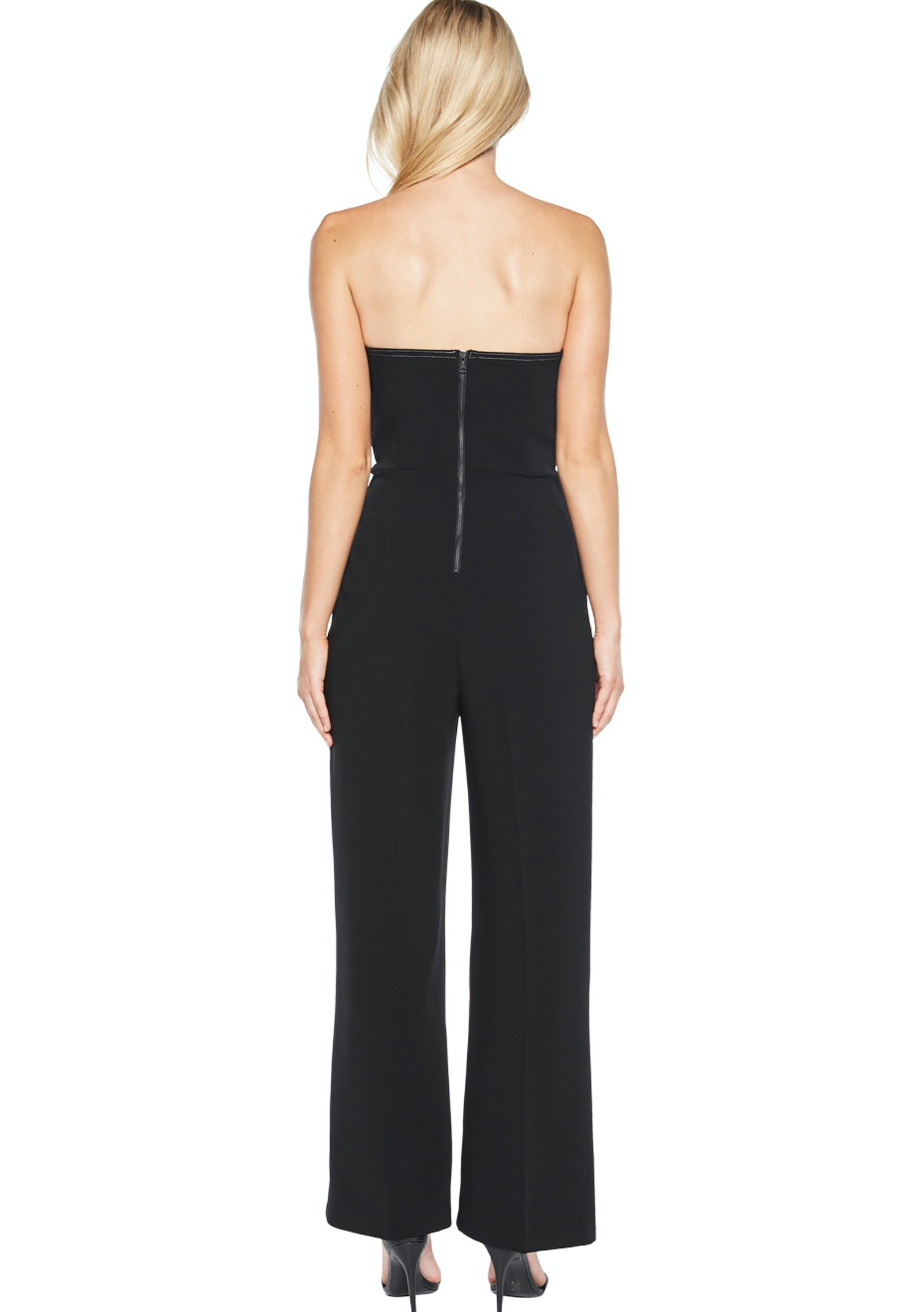 25a845ae867 Bardot - Twin Bow Jumpsuit - Black - Designer Outlet - Onceit
