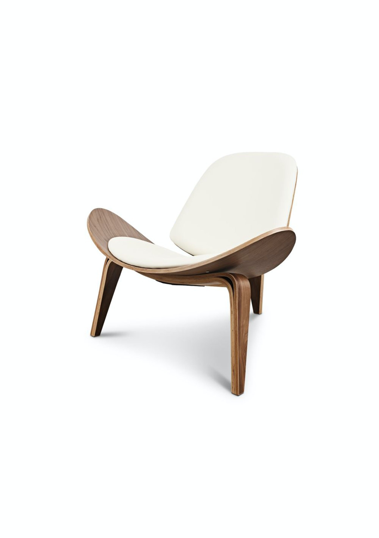 Replica designer shell occasional chair scandi inspired for Reproduction designer furniture