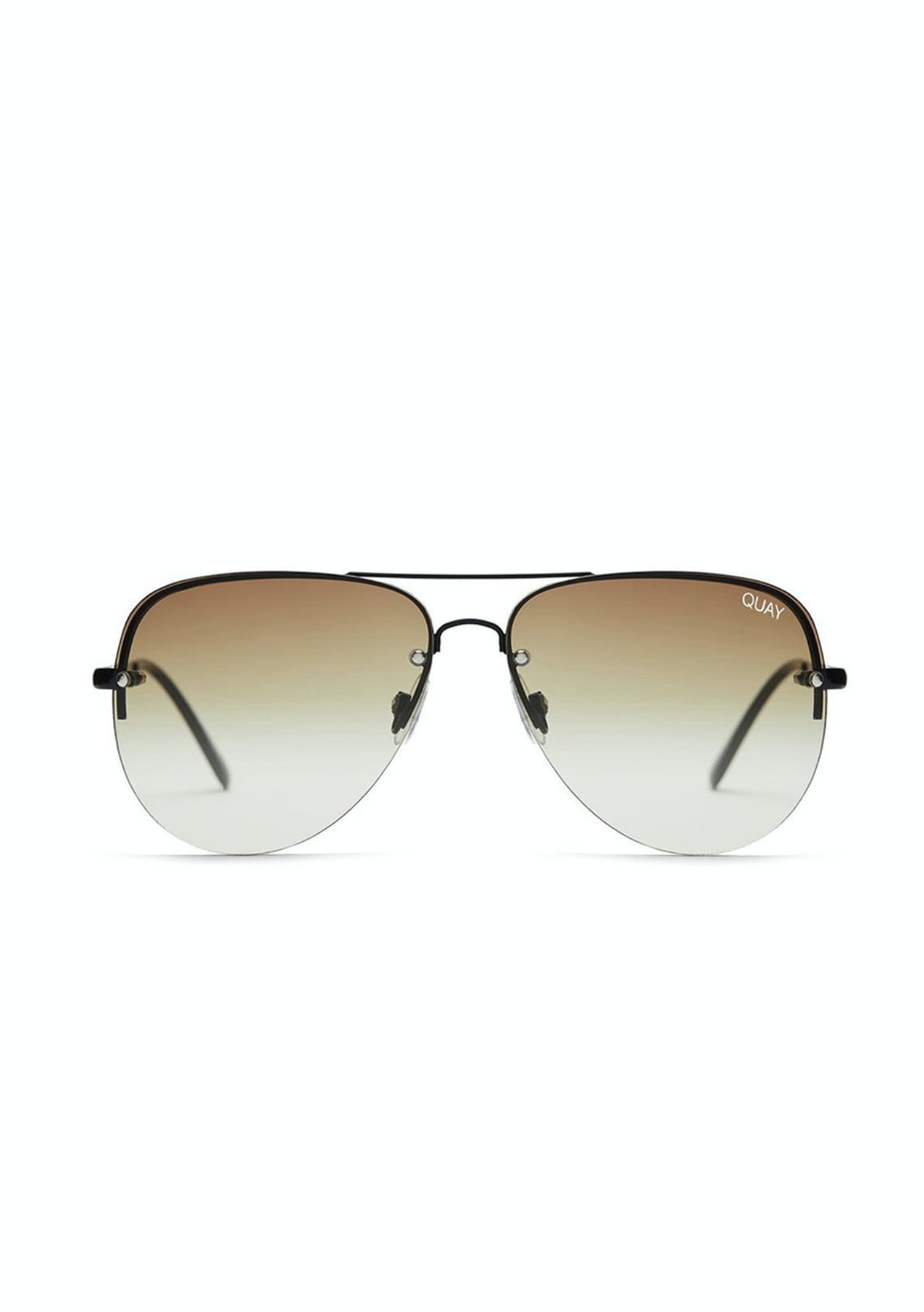 318b2cb4b9 Quay Australia - Muse Fade Black Brown Lens - Quay Australia - Onceit