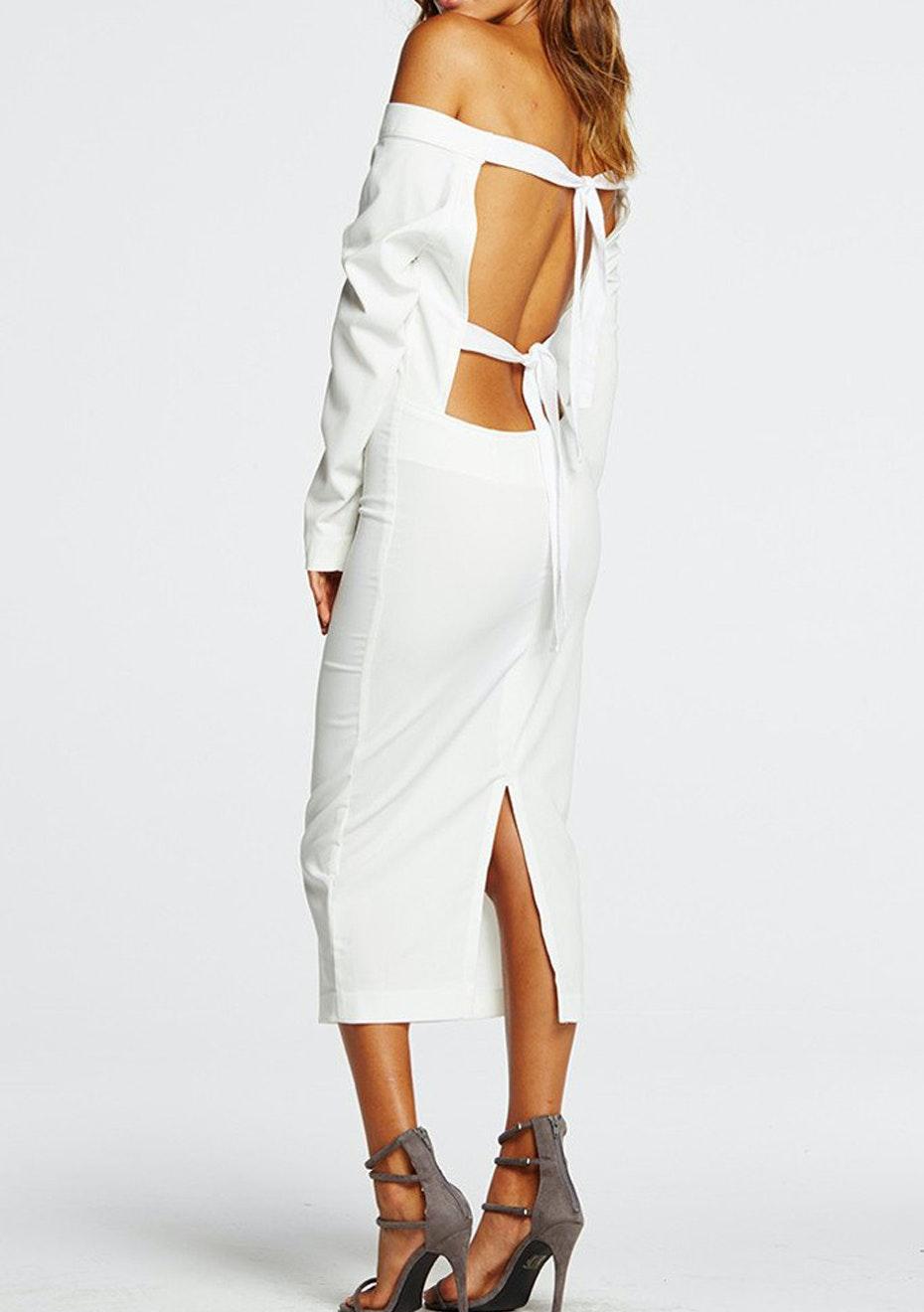 Maurie & Eve - Close to the Edge Dress- White