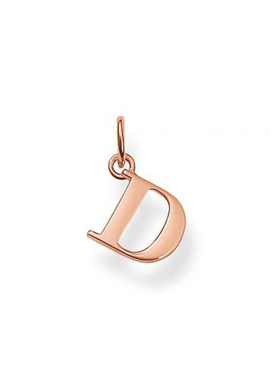 Thomas Sabo  - D' Pendant - Rose Gold Plated