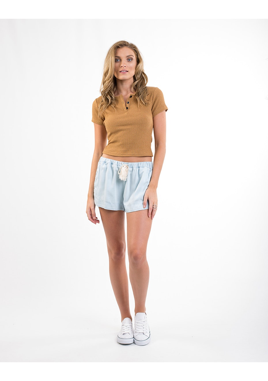 All About Eve - Jelly Crop - Mustard