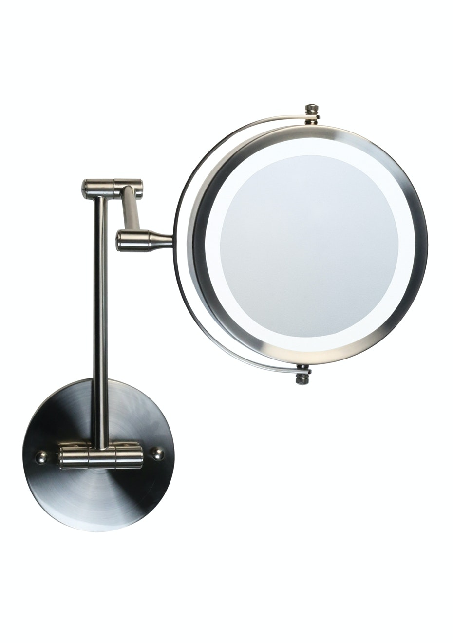 Homedics LED illuminated make up mirror - Wall mounted (battery only)