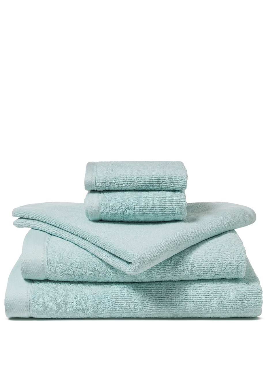 Canningvale - Corduroy Rib Bath Towel Ice Blue
