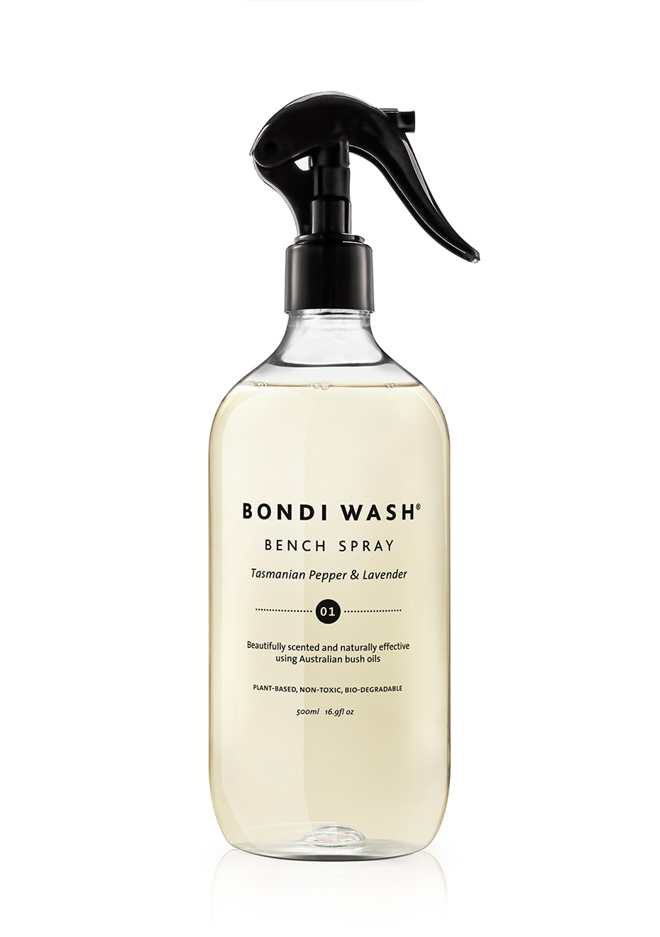 Bondi Wash - Bench Spray Tasmanian Pepper & Lavender 500ml