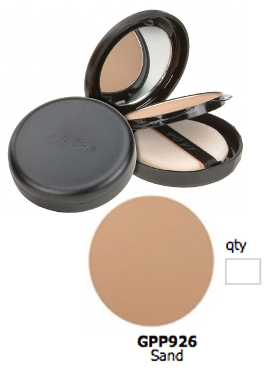 LA Girl Ultimate Pressed Powder - Sand