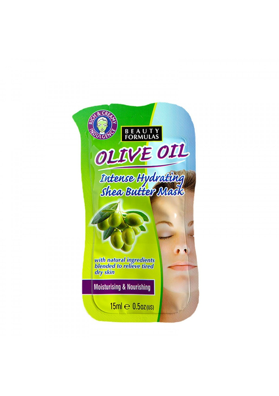 Beauty Formulas Olive Oil Intensive Hydrating Shea Butter Mask
