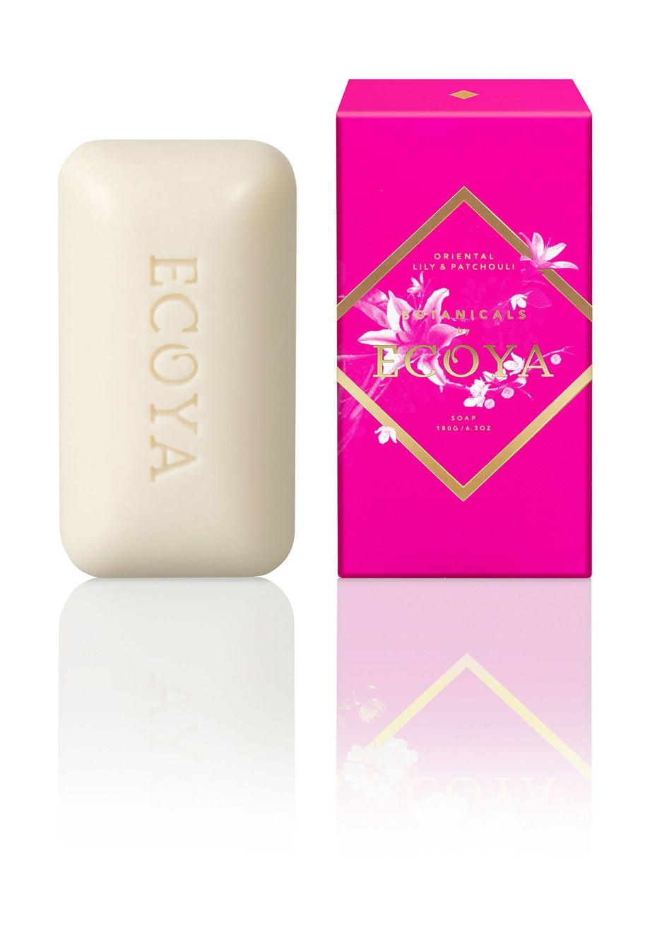 Ecoya - Soap - Oriental Lily & Patchouli