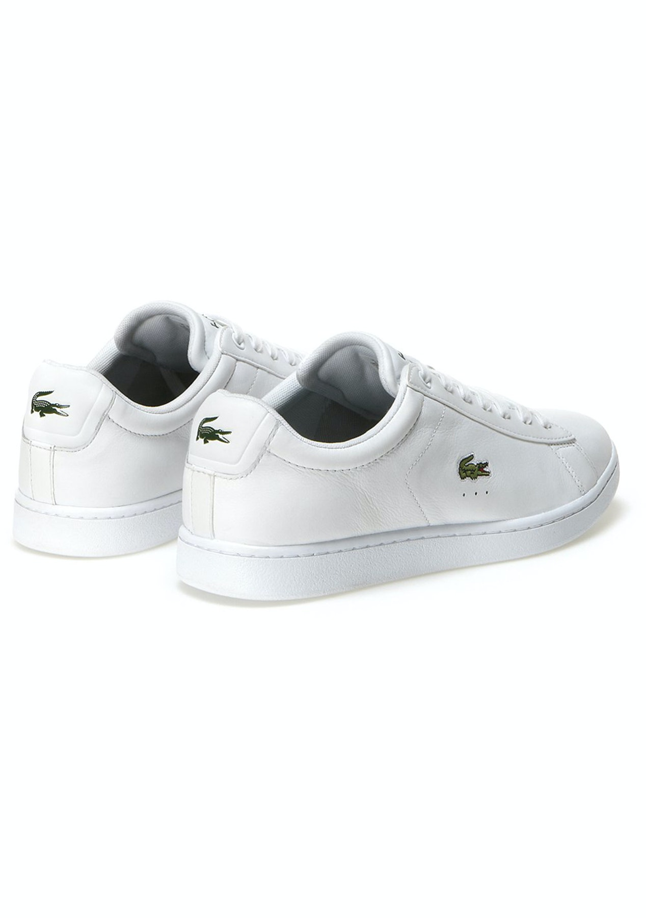 c0c708e11a5 Mens Lacoste - Carnaby Evo Lcr Spm - White - Last Ones  Mens Shoes - Onceit