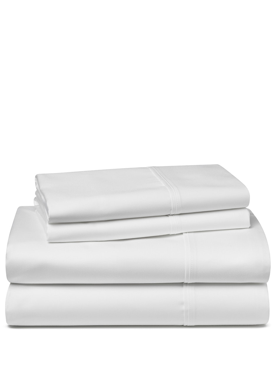 Palazzo Royale 1500TC Premium Blend Sheet Set Queen Bed Snow White