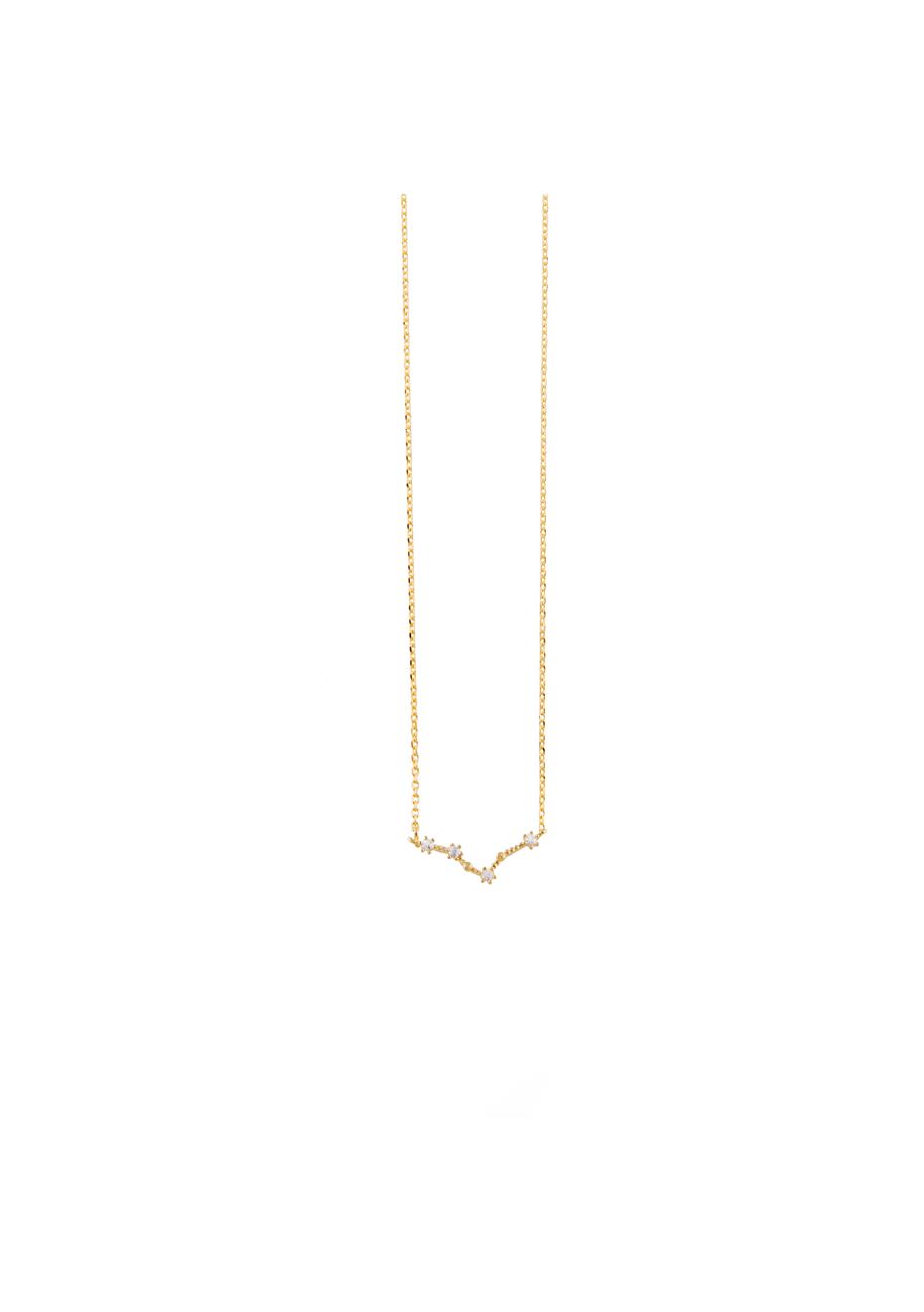 "CO SALE Gold /""PISCES/"" Cosmic Necklace NEW WANDERLUST"