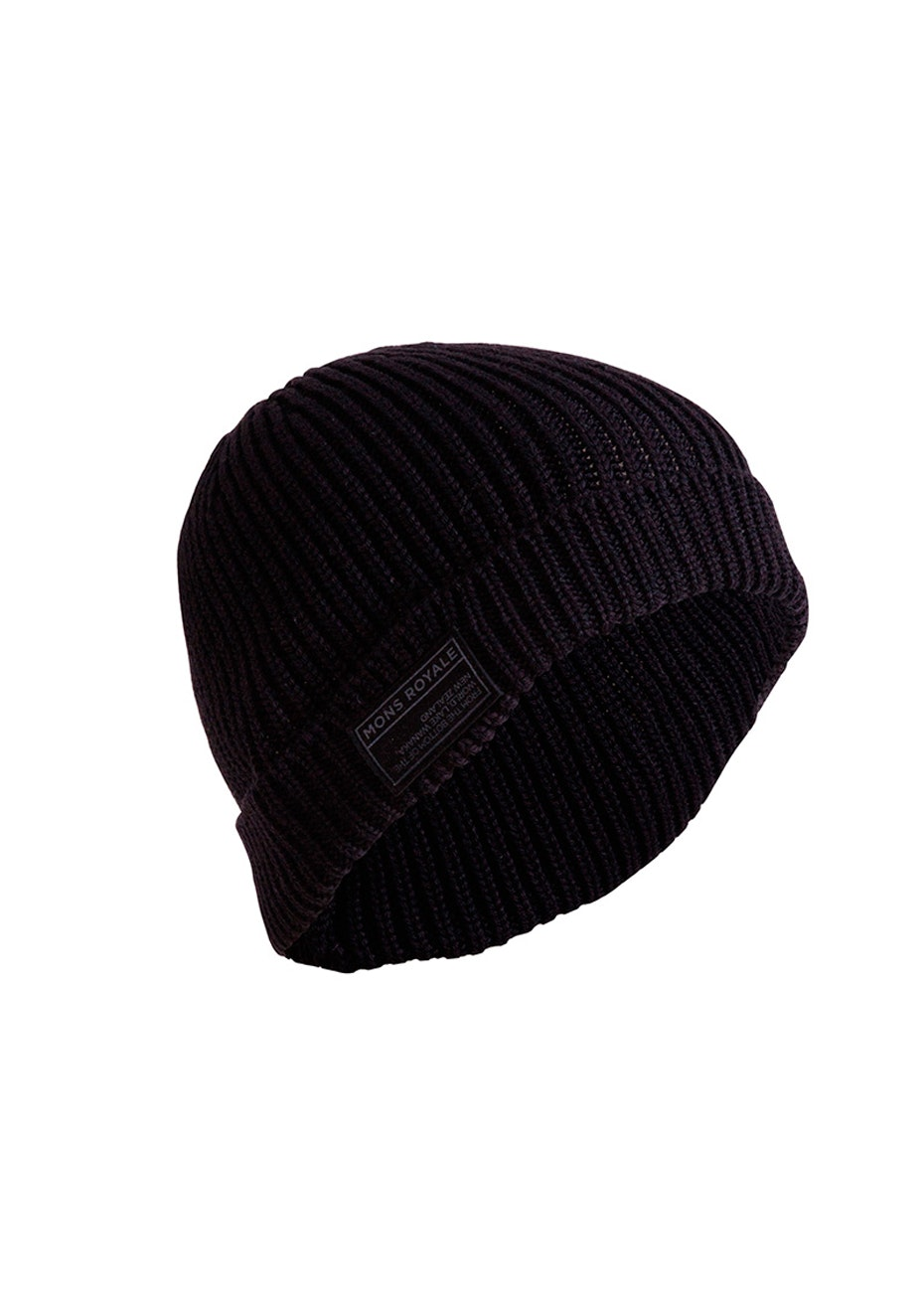 Mons Royale - Fisherman's Beanie - Black