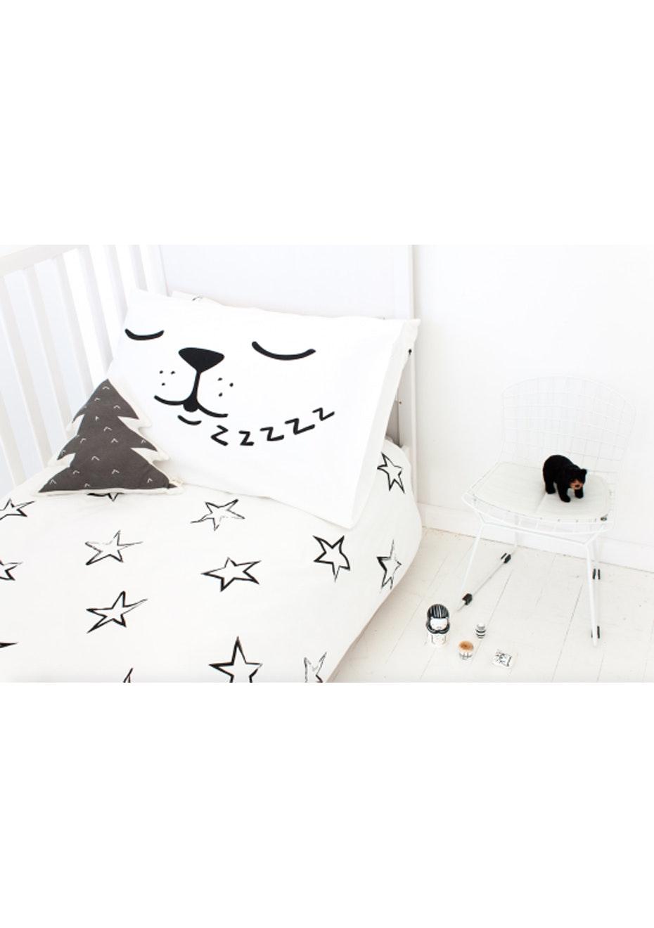 White Fox & Co - Sleepy Dog Pillowcase