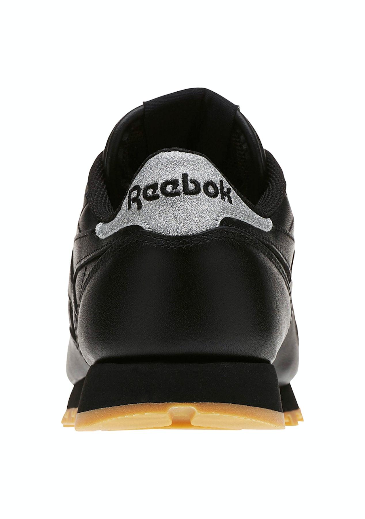 258481d496c7 Reebok Womens - Classic Leather Met Diamond Black Gum - Shoe Warehouse -  Onceit