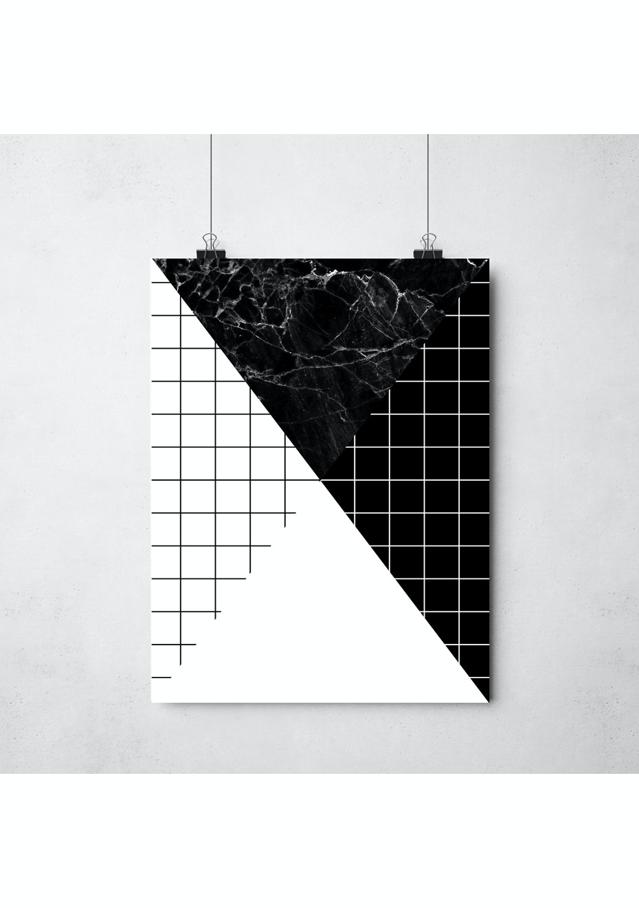 Simply Creative - Divide - A3 Monochrome Print