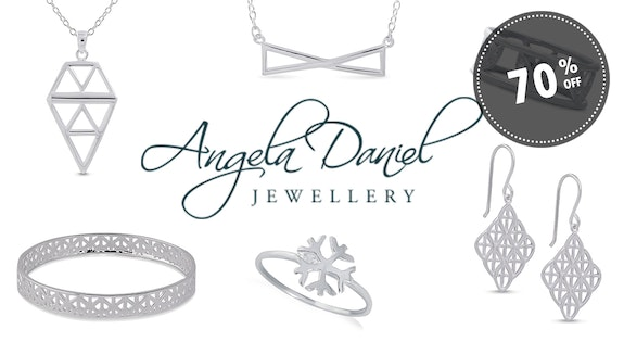 70% Off Angela Daniel Jewellery