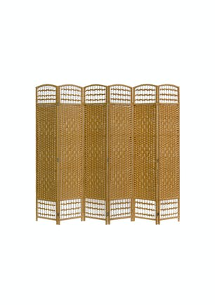 Awe Inspiring 6 Panel Room Divider Natural Online New Zealand Onceit Download Free Architecture Designs Viewormadebymaigaardcom