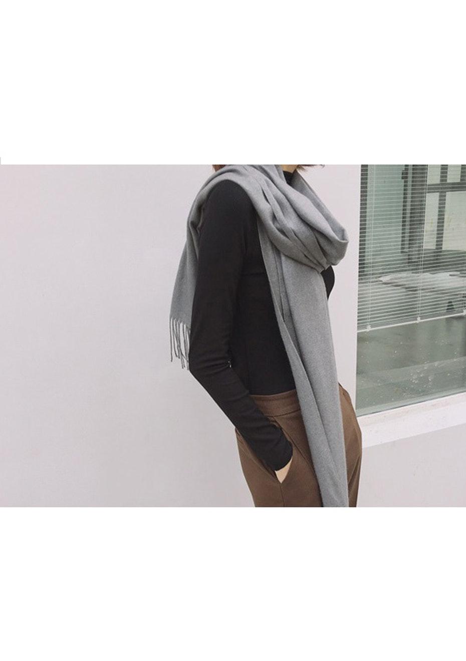 Cashmere Blend Wrap Scarves - Marle