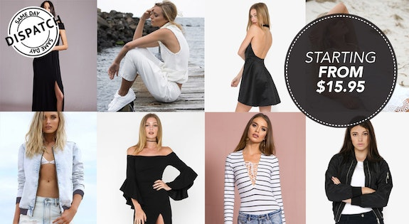 Image of the 'Under $50 Fashion Picks' sale