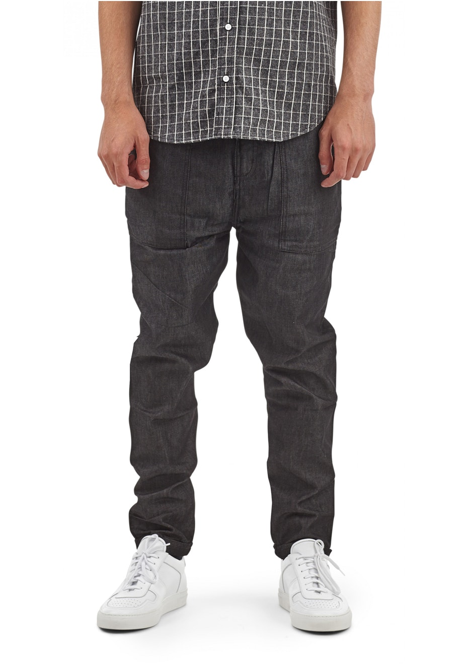 I Love Ugly - Edo Pant Raw Black Denim