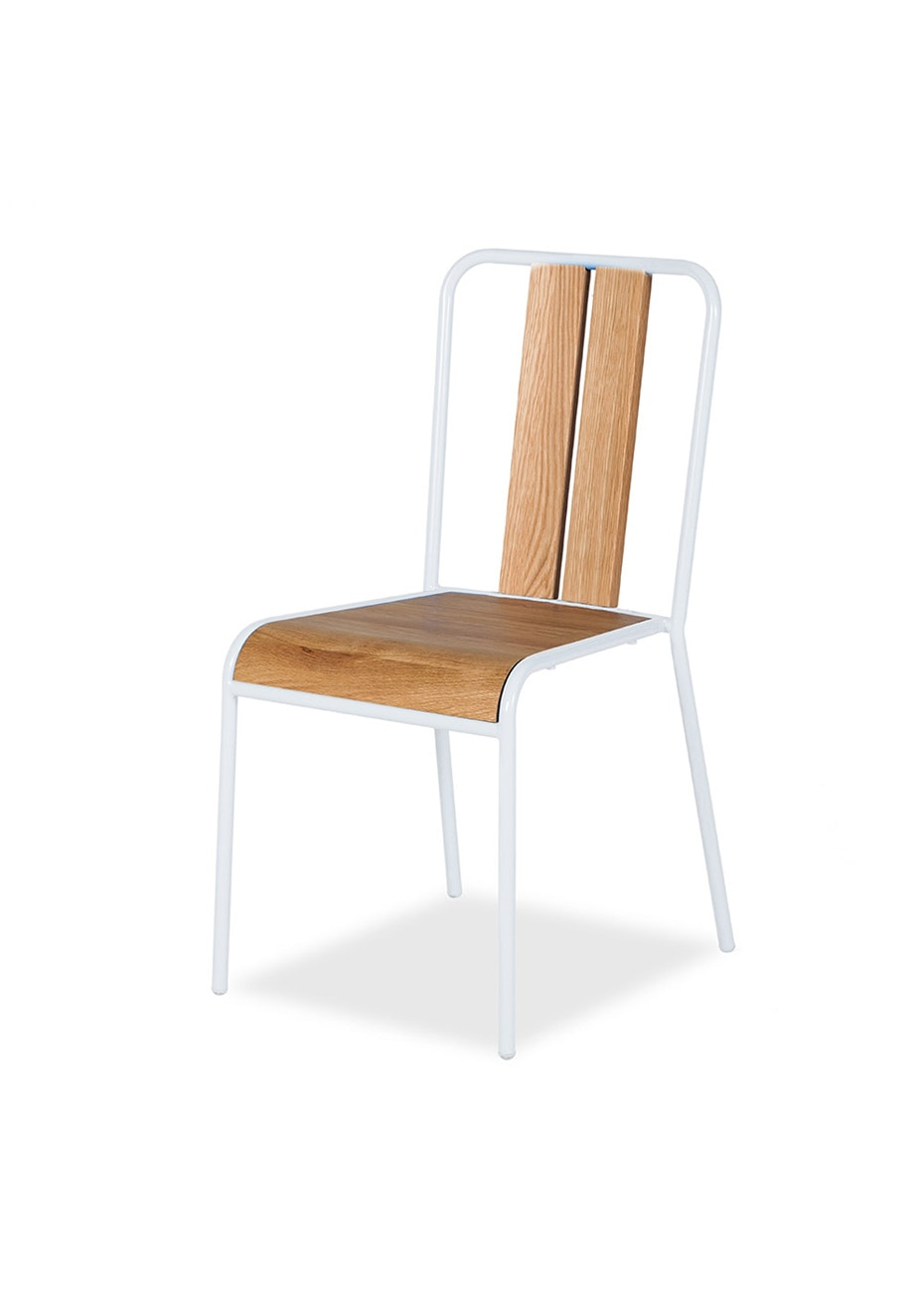 Furniture By Design - Manhattan Chair - Oak and White