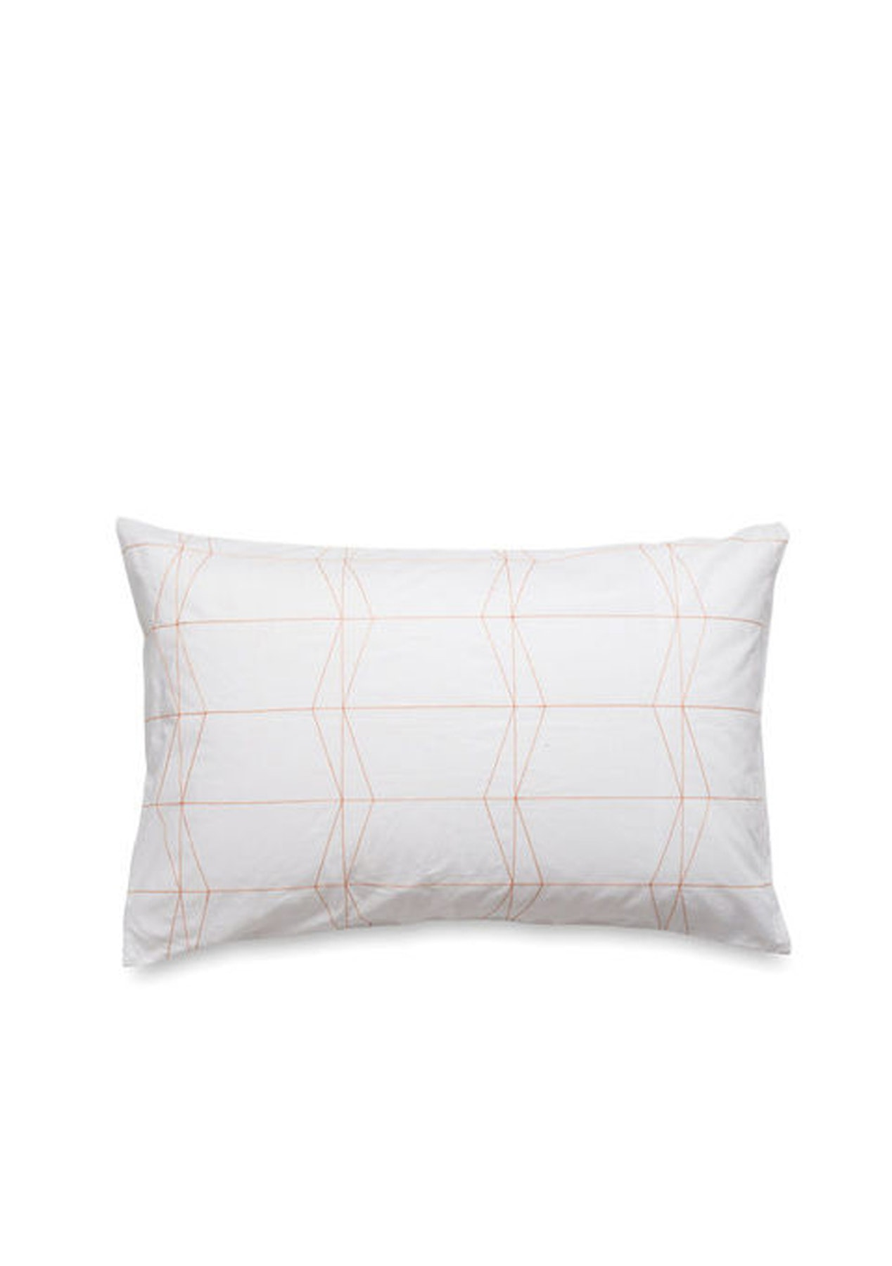 Citta frey embroidered duvet cover white persimmon q for Citta design outlet