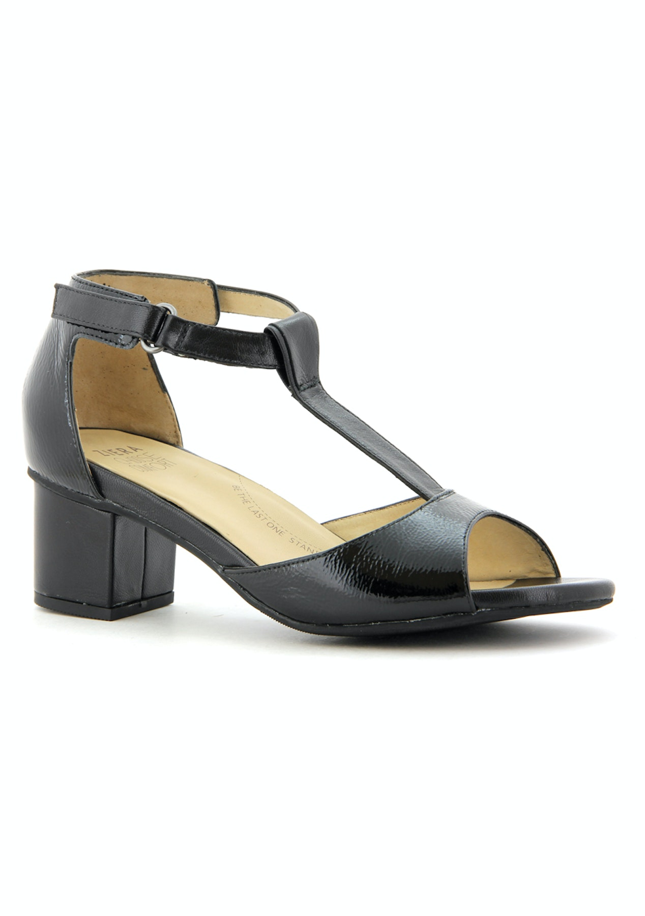 fe51943e9efa Ziera - Dylan - Black Patent Black - Extra Wide - Ziera Shoes - First Time  Ever! - Onceit