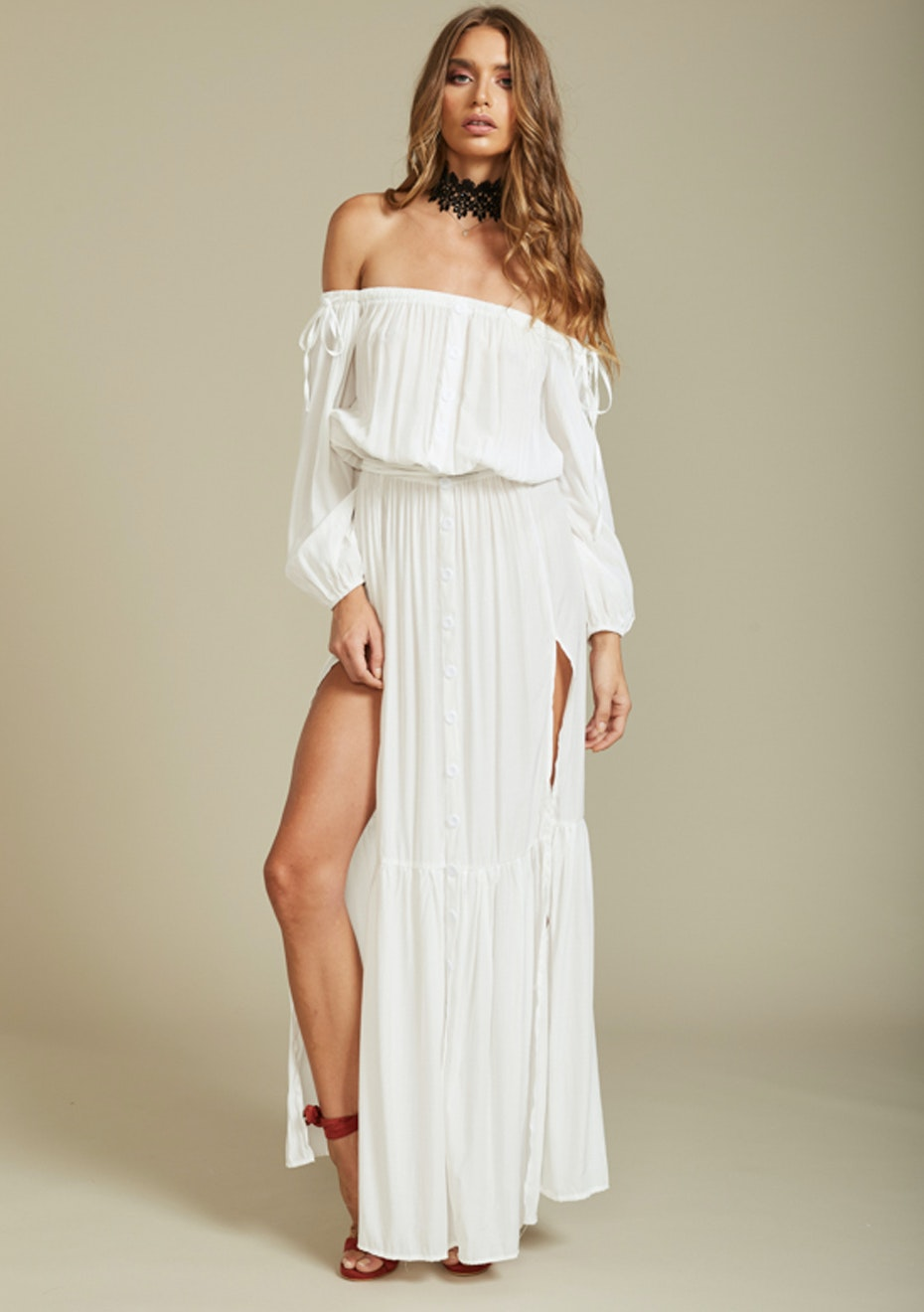 Lioness - Summer Punch Maxi Dress - White