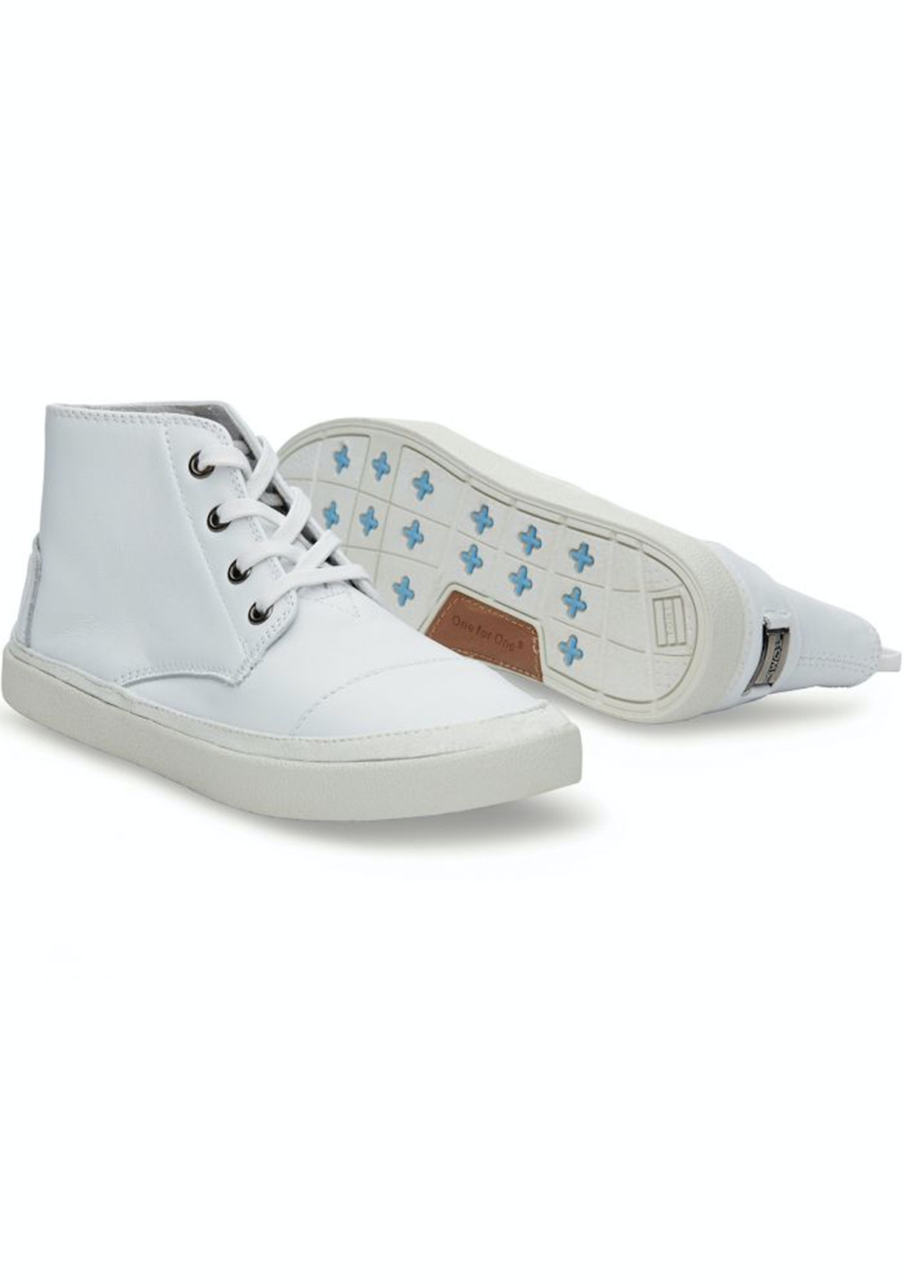 2f668442f41 Toms - Women Paseo-High - White - Shoes Garage Sale - Onceit