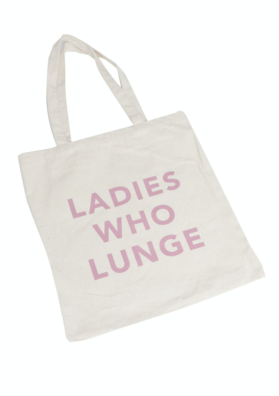 LADIES WHO LUNGE - Tote Bag