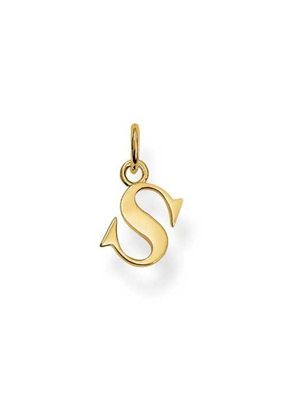 Thomas Sabo  - S' Pendant - Yellow Gold Plated