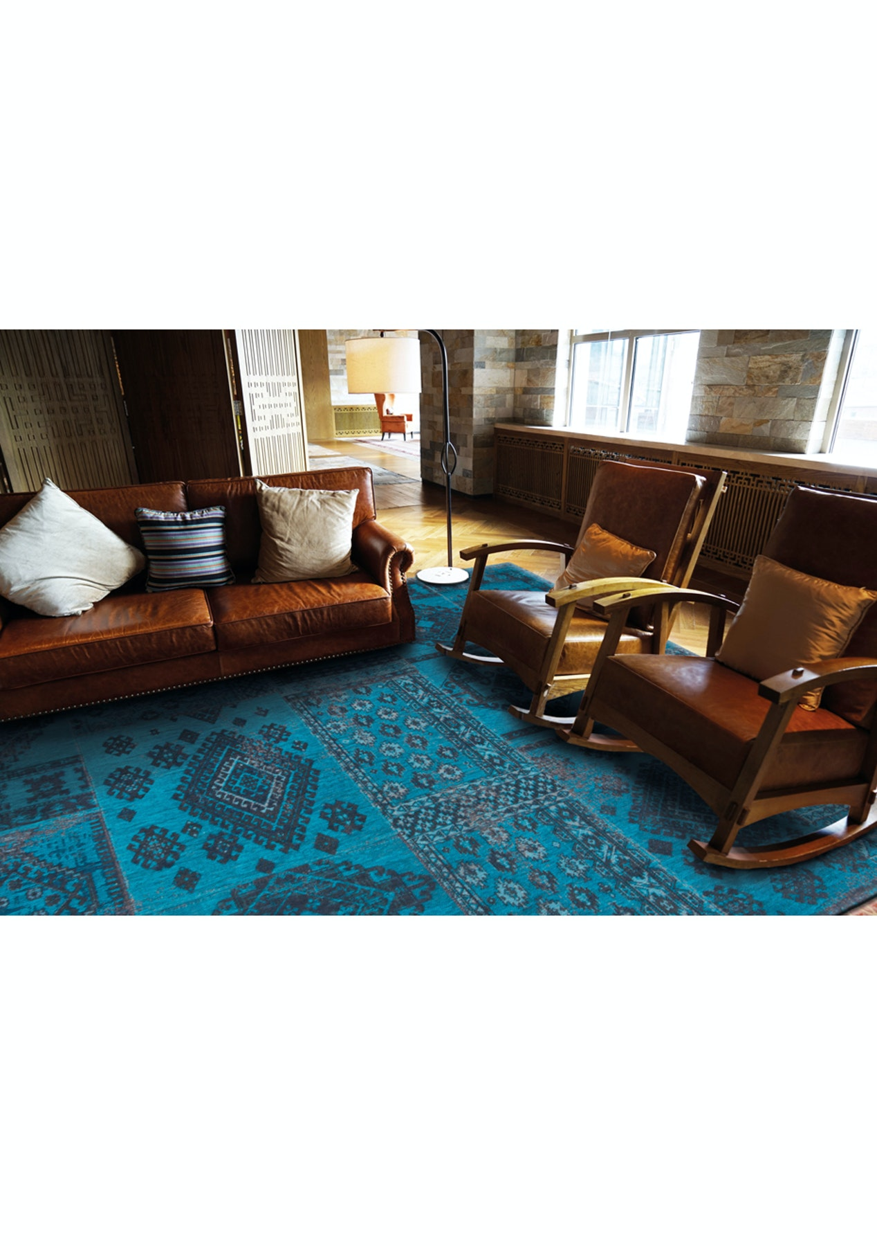 Vintage wool blend bohemian 200x280 best selling rugs for Best selling rugs