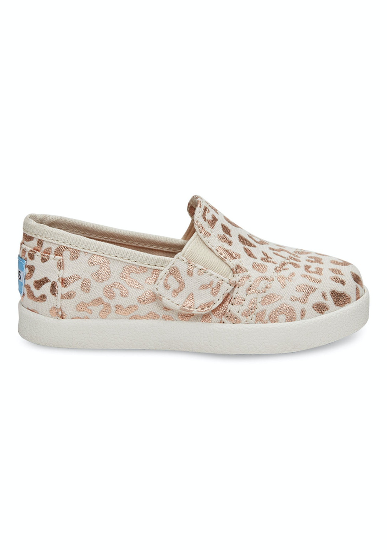 44d7247c019 Toms - Tiny Avalon Slipon - Natural Cheetah Foil - Kids Fashion Outlet    More - Onceit