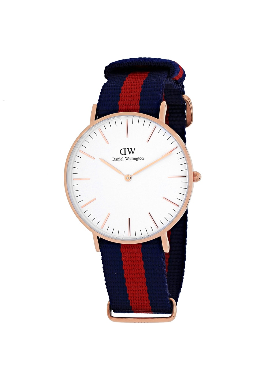 Daniel Wellington Women's Classic Oxford - White/Two-tone Navy B