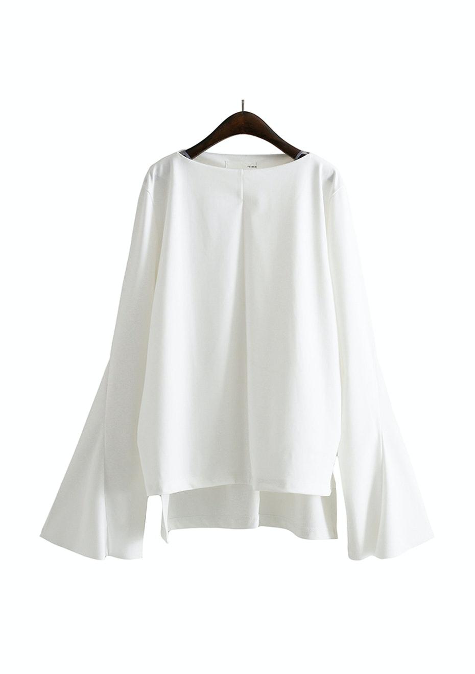 Lolita Flared Sleeve Top - White