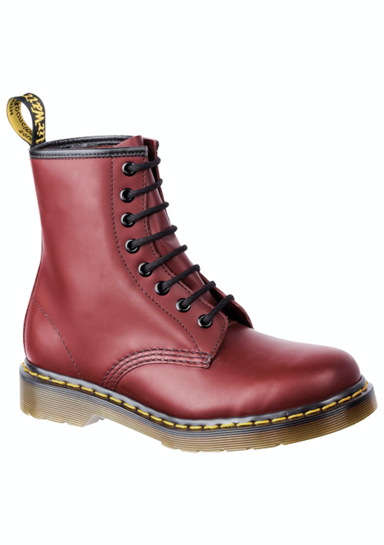Dr Martens - 1460 8Up - Cherry - Final Few  Shoes   Bags - Onceit c7d3484dfa7