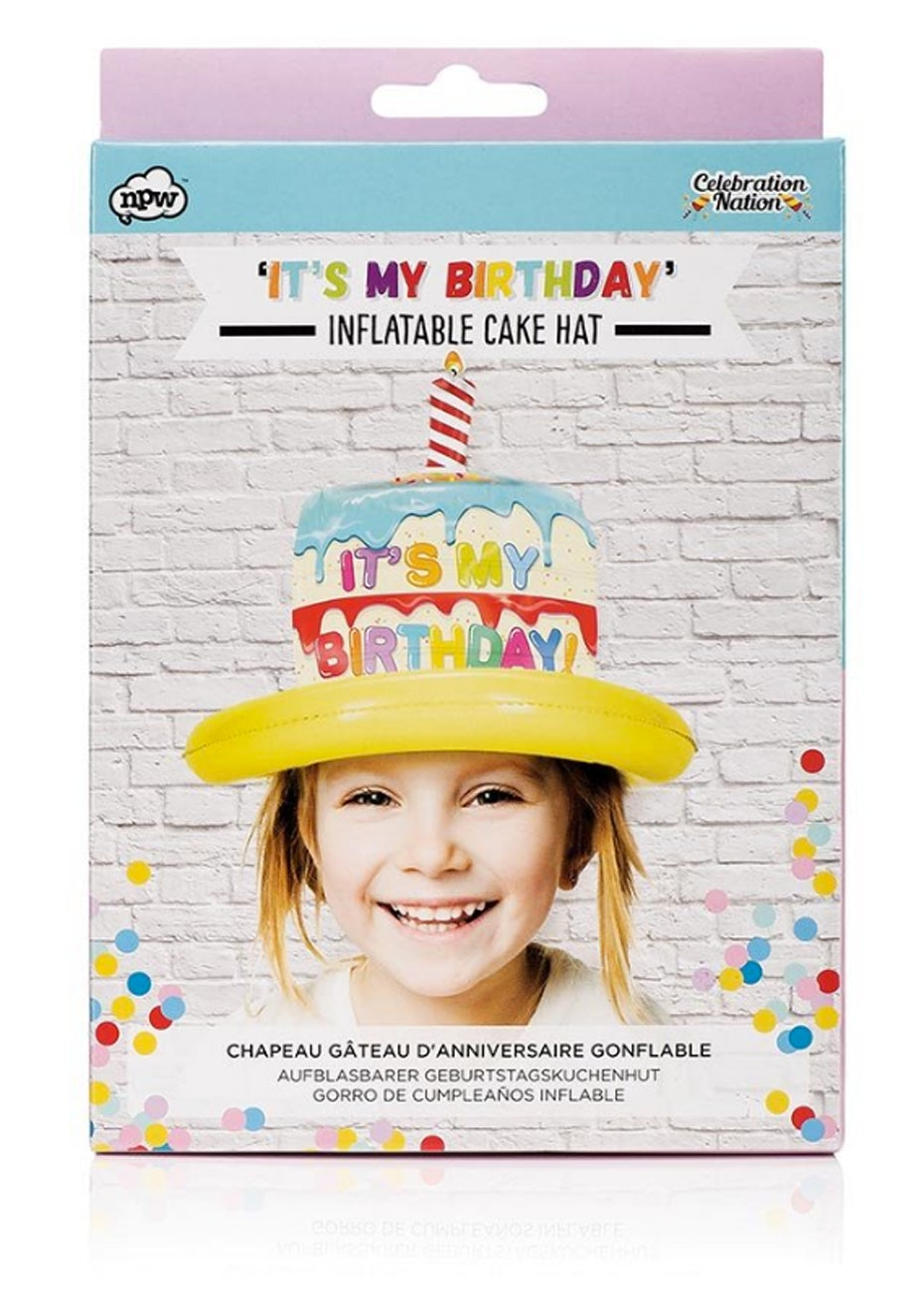 Inflatable Birthday Hat - Kids