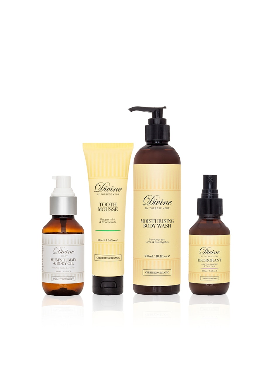 Divine Baby - Organic Mum - Body Purifying Basics