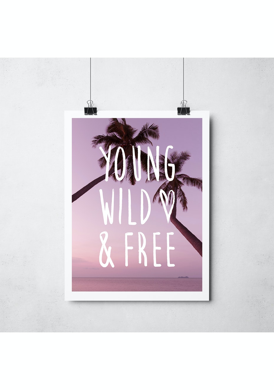 Simply Creative - Wild & Free - A3 Colour Print