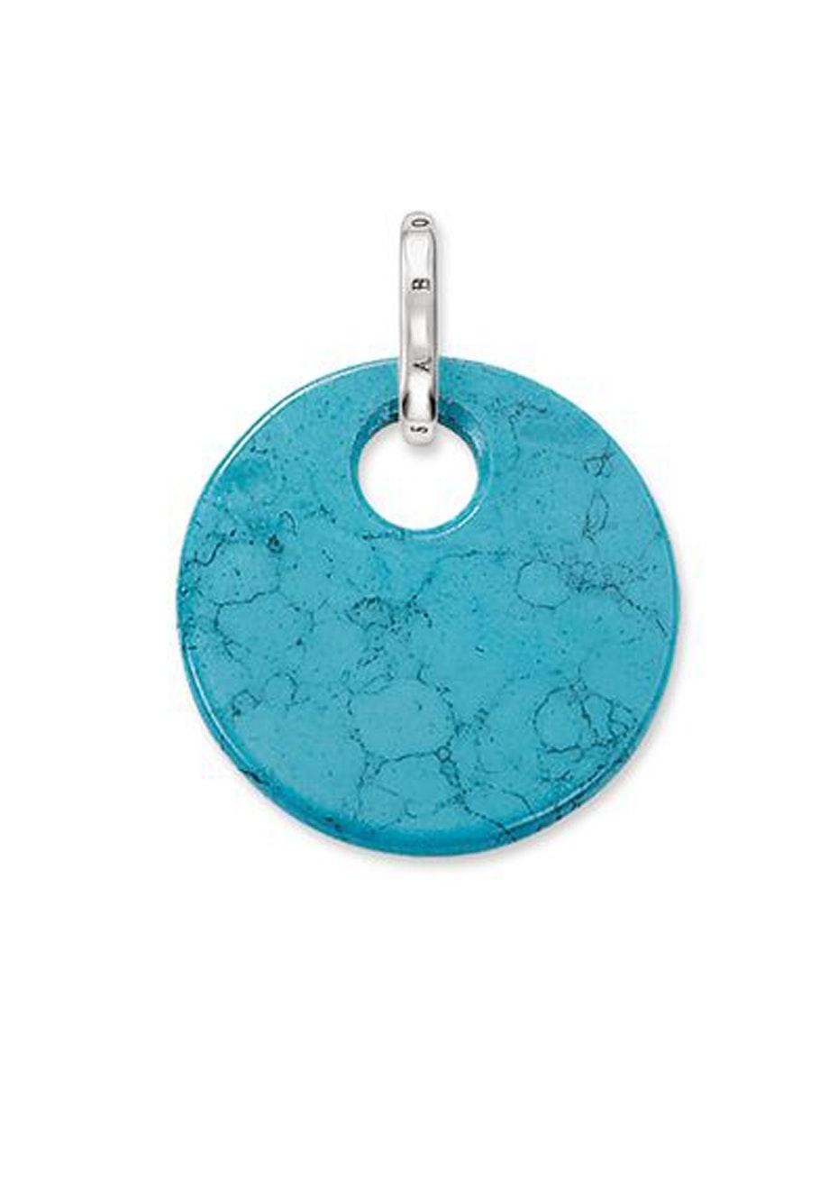 Thomas Sabo  - Turquoise Disc Pendant
