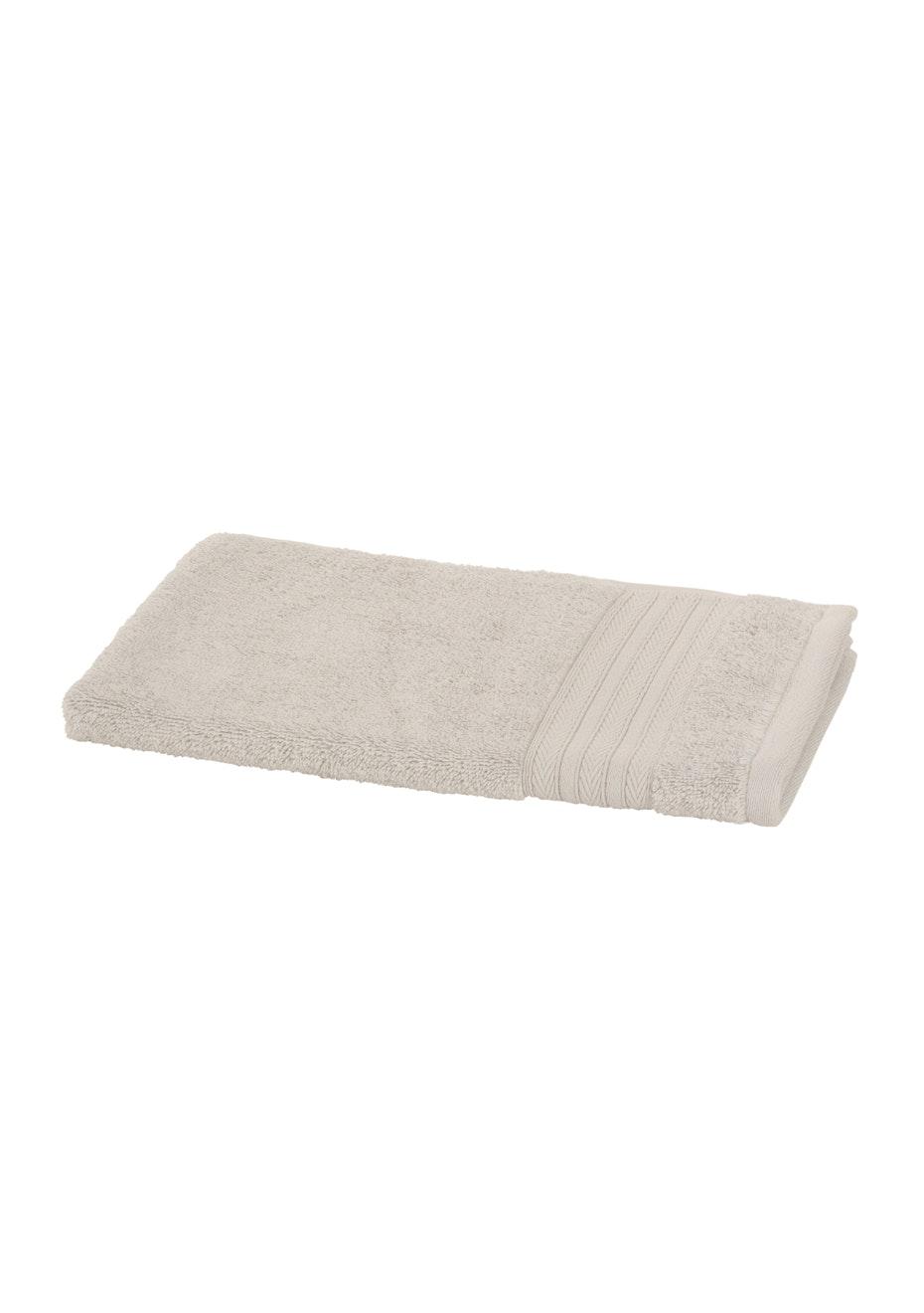 Charisma Egyptian Hand Towel Silver